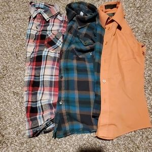 Long Sleeve  Boys Shirts  Bundle